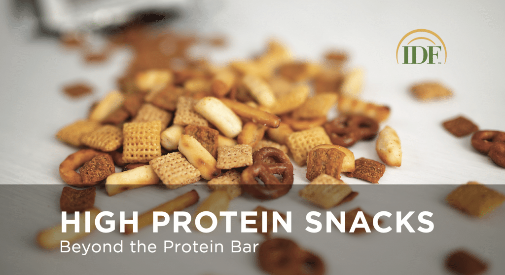 IDF White Paper - High Protein Snacks